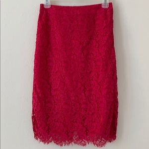 Kate Spade lace skirt size 4